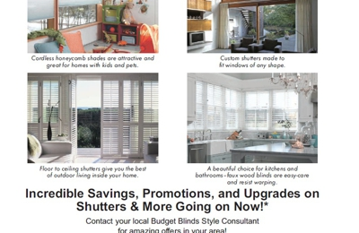 Budget Blinds serving Turlock - Atwater, CA