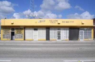 Super Yellow Taxi - Miami, FL
