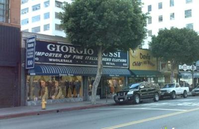Giorgio Rossi Men's Clothing - Los Angeles, CA