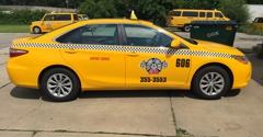 Yellow Checker Cab - Champaign, IL