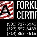 USA Forklift Certification