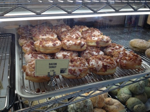 Donuts at Cafe Dulce in Los Angeles