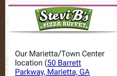 Stevi B's Pizza - Marietta, GA