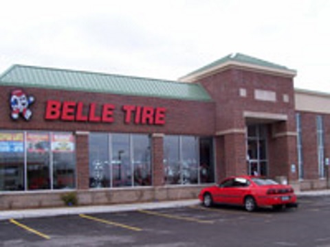 Belle tire bay city