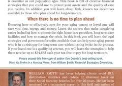Financial Strategies Consulting - Charlotte, NC. Give your family twice the money if you don't use that money for Long Term Care that will be Tax Free