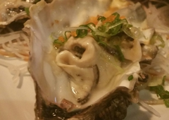 Red Salmon - Lancaster, CA. Oysters on the half shell