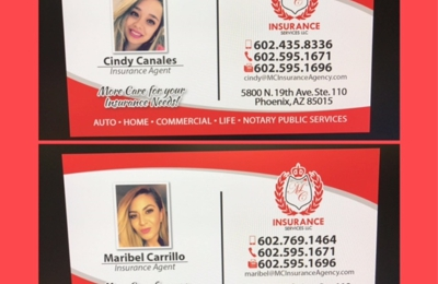 Mc Insurance Services 5800 N 19th Ave Phoenix Az 85015 Yp Com
