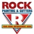Rock Painting & Gutters