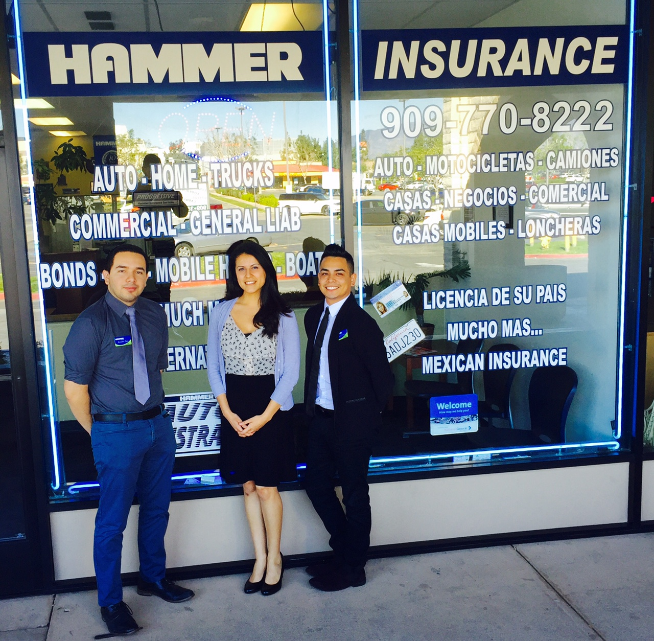 Hammer Insurance Services Inc Fontana 17049 Valley Blvd Ste E