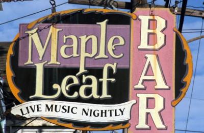 Maple Leaf Bar - New Orleans, LA