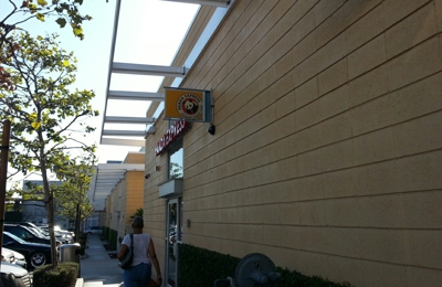 Panda Express - Los Angeles, CA. Back entrance through the parking lot
