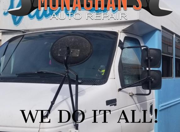 Monaghan's Auto Repair - Las Vegas, NV. At Monaghan's Auto Repair, we work on all makes and models so bring your school bus in!!   http://www.monaghanautorepair.com/Mechanic
