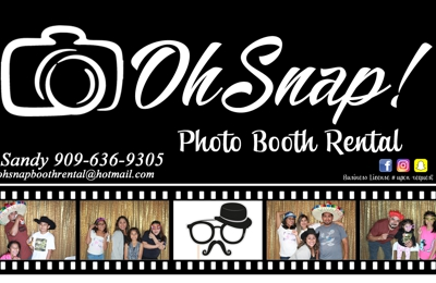 Oh Snap! Booth Rental - Chino, CA