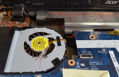 Art Pc Repair - Glendale, CA. Acer Laptop