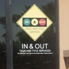 In & Out Tags and Title Services