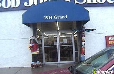 Bob Jones Shoes in Kansas City, MO — Get driving directions to Grand Blvd Kansas City, MO Add reviews and photos for Bob Jones Shoes. Bob Jones Shoes appears in: Shoe Stores, Clothing Accessories Retail, Women's Accessories Retail.