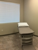 Clean, well equipped exam rooms