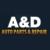 A&D Auto Parts & Repair