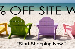 20% off Site Wide thru August 31St.