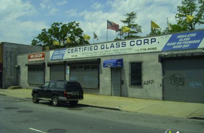 Certified Glass Corp. - Hollis, NY