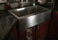 Go-Granite.com - Lake Dallas, TX. Replaced a prior undermount double basin sink