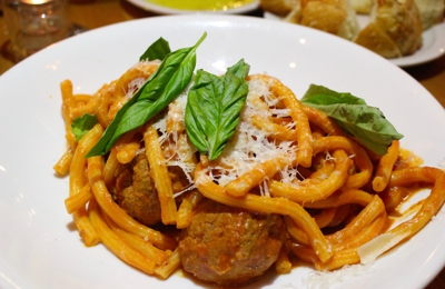 Colletta - Alpharetta, GA. Spaghetti and meatballs