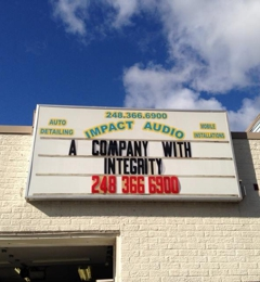 Impact Audio & Accessories - Commerce Township, MI