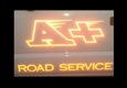 A + ROAD SERVICE - San Mateo, CA. The names says it all