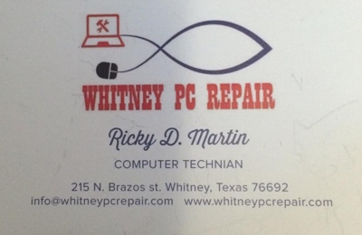 Whitney PC Repair - Whitney, TX