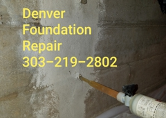 Denver Foundation Repair and House Leveling - Denver, CO. Foundation Repair 303-219--2802  #FoundationRepairDenver #FoundationRepair #DenverFoundationRepair