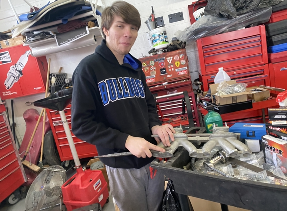 Smyth Imported Car Service Inc Authorized Independent Bentley Motor Car Work Shop - Cincinnati, OH. Patrick Smyth Fixing Intake