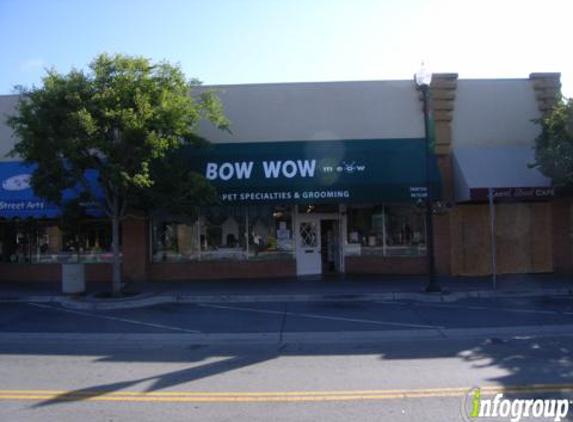 Bow Wow Meow Pet Specialties & Grooming - San Carlos, CA