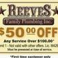 Reeves Family Plumbing - Dallas, TX