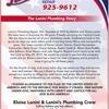 Lanini's Plumbing & Heating Repairs