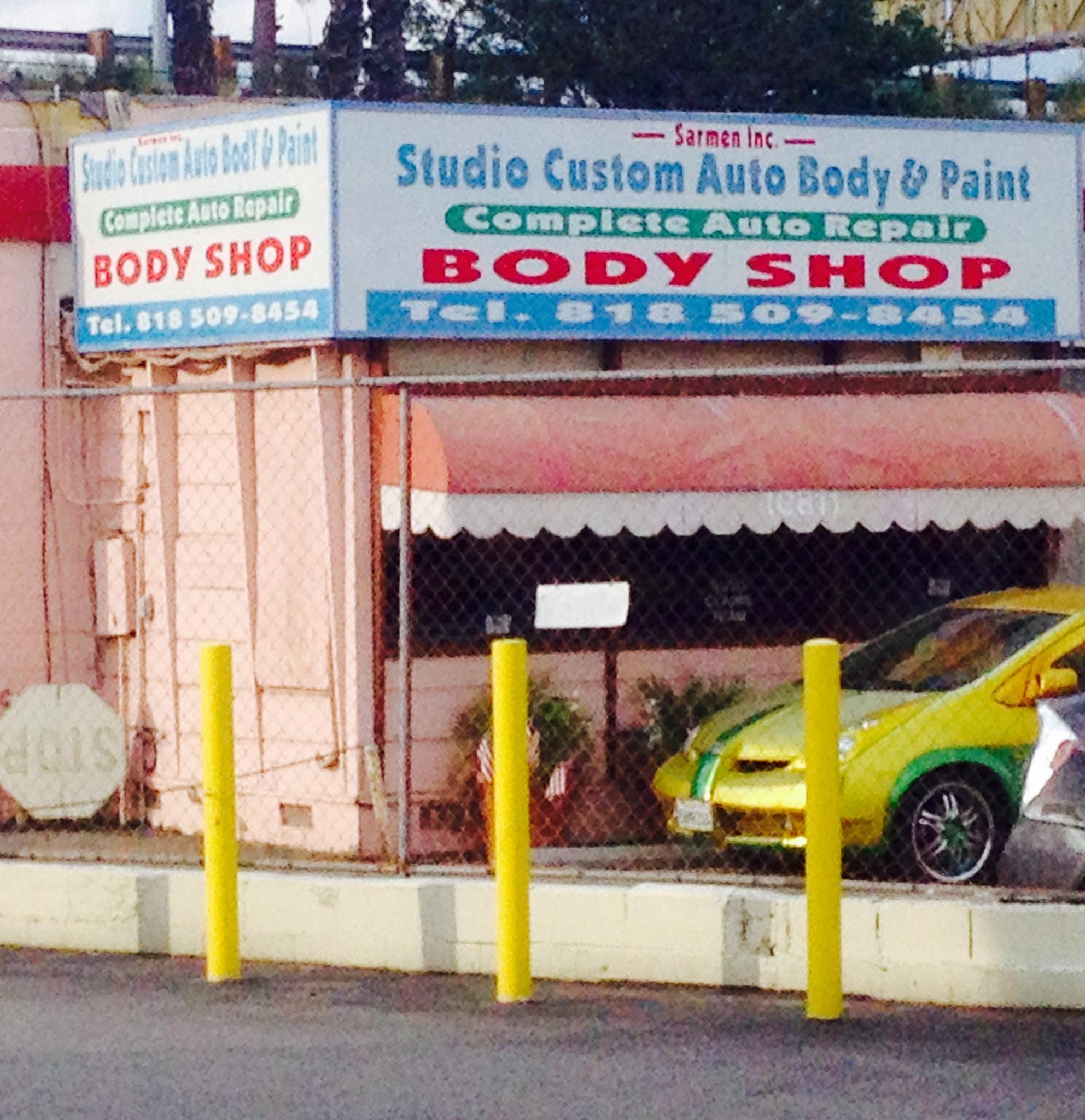 Studio Custom Auto Body & Paint 10811 Riverside Dr, North Hollywood