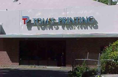 Tom's Printing - Sacramento, CA