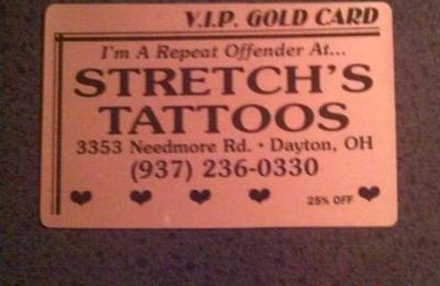 Stretch's Tattoos - Dayton, OH