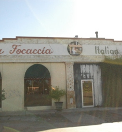 La Focaccia Italian Grill - San Antonio, TX