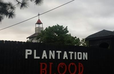 Plantation Blood - Augusta, GA. Plantation Blood Sign