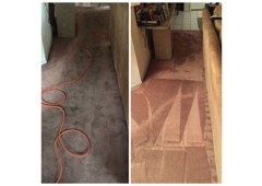 Chem Dry Carpet Tech - Northridge, CA. Before and After: Carpet Cleaning.