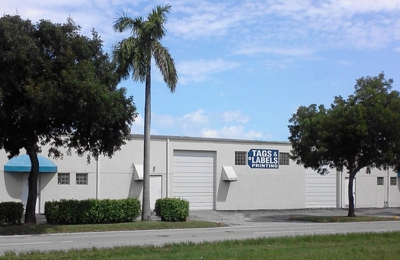 Tags And Labels Printing Inc - Hallandale Beach, FL