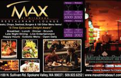 Max At Mirabeau Restaurant & Lounge - Spokane Valley, WA