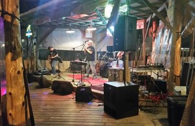 "T-Bone Tom's - Kemah, TX. The band ""OGRE"" live at T-bone Tom's."