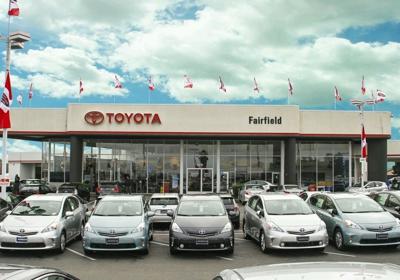 Momentum Toyota Of Fairfield 2575 Auto Mall Pkwy Fairfield