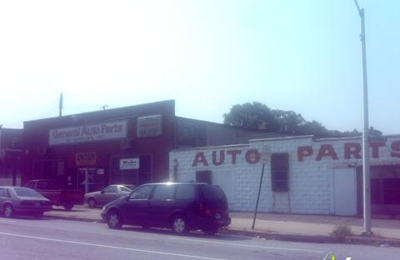 General Auto Parts >> General Auto Parts Supplies Inc 1213 E 25th St Baltimore