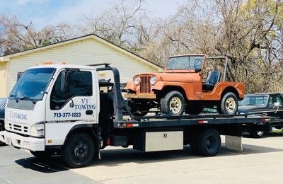 V1 Towing - Houston, TX. 1975 JEEP CJ-5
