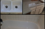 Tubs, Showers, Sinks, Counter Tops with Porcelain, Fiberglass, Tile, Cultured Marble. Call us: (818)974-9247