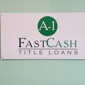 A-1 Fast Cash Inc - Tucker, GA