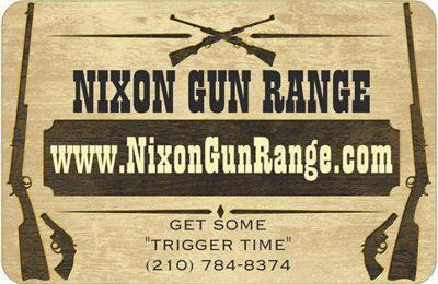 Nixon Gun Range - Nixon, TX