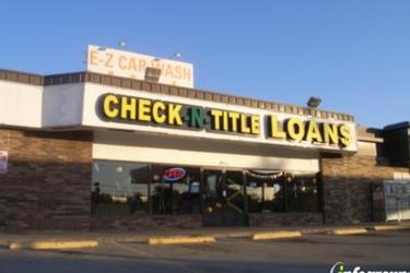 Check-N-Title Finance
